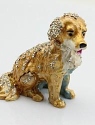 Cute Dog Jewelry Package Trinket Box