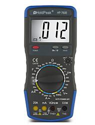 LCD-Digital-Display manuellen Bereich Multimeter-Hintergrundbeleuchtung Auto Power Off holdpeak PS-760b