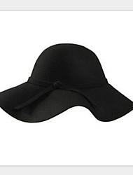 Women Wool Fedora Hat , Cute