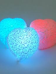 forma colorido ouvir subiu de mudança de cor luz conduzida da noite