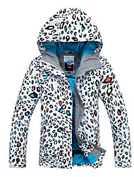 Women's Ski Ski/Snowboard Jackets Waterproof / Breathable / Wearable / Windproof / Thermal / Warm White / Blue / OthersSkiing / Camping &