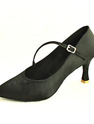 op maat satijn latin / ballroom dansvoorstelling schoenen voor vrouwen (meer kleuren)