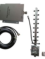 DCS 1800MHz téléphone mobile amplificateur de signal amplificateur répéteur kit d'antenne 500m² nouvelle