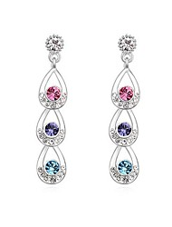 Austrian Crystal Alloy Plating Earrings(More Colors)