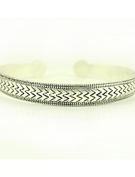 1pcs bracelet n0.3 argent vintagetibetan de mode sculpté