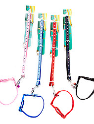 Dog Collars Red / Pink Textile