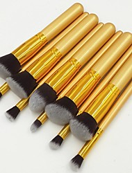 10 Makeup Brushes Set Synthetic Hair Face / Lip / Eye Others