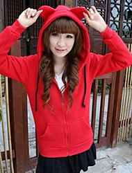 Women's Solid Color Cute Rabbit Ears Cashmere Sweater(More Colors)