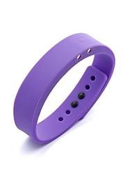inteligente pedômetro pulseira de fitness com o trabalho de vibração com ios e alerta de chamada recebida android (apenas para android)