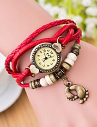 Wanbao Women's Vintage Weave Bracelet Watch