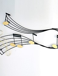 E-HOME® Metal Wall Art Wall Decor, Dancing Music Wall Decor