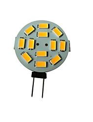 3W G4 LED Spot Lampen 12 SMD 5630 250-270LM lm Warmes Weiß DC 12 V
