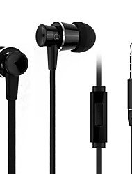 BeBonCool Alloy Bass  3.5mm Volume Controllable In-ear Stereo Headset with Microphone for iPhone/iPad/Ipod