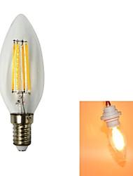 LED Filament Lamps , E14 W 4 Integrate LED 440 LM Warm White V