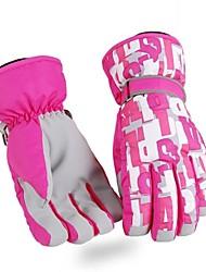ouder-kind thermische fashional waterdicht&winddicht ski handschoenen