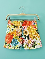 Women's Fashionable Positioning Printed Shorts