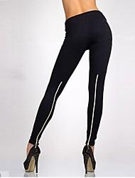 givenchy&pantalones de cultivos lápiz de cintura alta de una mujer