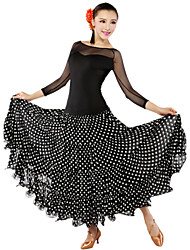 Ballroom Dancewear Women's  Tulle Qmilch Ballroom Modern Dance Dress  (More Colors)