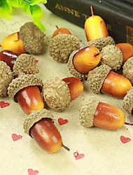 Qihang Retro Artificial Acorn Photography Props(1 PCS)