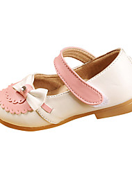 Ballerines ( Rose/Pourpre/Blanc ) - Similicuir - Confort/Mary Jane/Bout rond