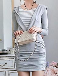 Jansa ™ Frauen Paket Hüfte stricken schlanke Kleider