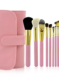 Make-up For You® 10pcs Makeup Brushes set Goat/Wool/Pony/Horse Hair  Limits bacteria/Professional Shadow/Blush/Lip/Powder/Brow/Lash Brush Makeup Tool