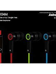 haut de gamme dans le style jabees®universal d'oreille plat écouteurs de câble avec microphone