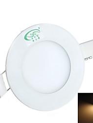 zweihnder проводки 3W 280lm 3000-3500K 15x2835 SMD светодиодов теплый свет вокруг света панели (AC 85-265V)