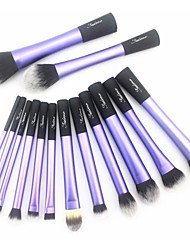 Sedona® 14pcs Makeup Brushes set Purple Powder/Foundation/Concealer/Blush brush Shadow/Eyeliner/Brow Brush Makeup Kit Cosmetic Brushes