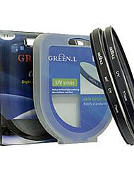 anello adattatore per Canon g5 g6 tubo 58 millimetri in metallo e anello dell'obiettivo uv verde copriobiettivo cappuccio set