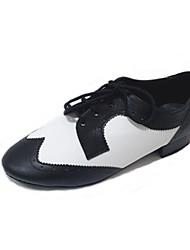 Sapatos de Dança (Preto) - Homens - Não Personalizável - Costura Shoes