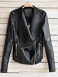 De monika vrouwen klinknagel afdrukken mantel jas