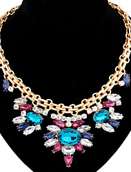 Colorful day  Women's European and American fashion necklace-0526016