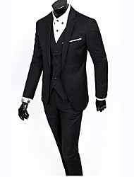 Men's Fashion Slim Suits (Including Coat ,Vest and Pant)