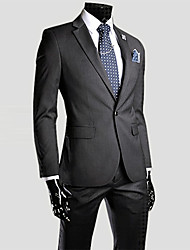 Lesen Men's Lapel Solid Colors Thicken Suit  O