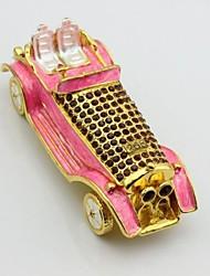 caixa de jóias de carro de luxo