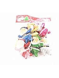 Colorful Santa Claus Six Widgets