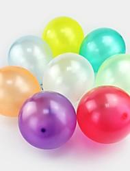 100pcs multicolor lattice dell'elio ispessimento perla aerostato per la festa nuziale di compleanno