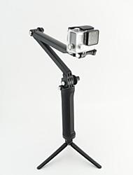 GoPro 3-way braço de controle de três suporte com uma alavanca tripé e do temporizador gopro4 aplicável 3+ 3 2
