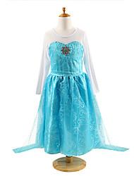 niñas vestido de princesa hermosa