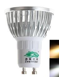 3W GU10 Spot LED MR16 3 LED Haute Puissance 280 lm Blanc Chaud / Blanc Froid Décorative AC 85-265 V