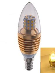 7W E14 LED лампы в форме свечи 35 SMD 2835 550 lm Тёплый белый AC 100-240 V 2 шт.