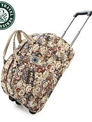 nuevo monedero del bolso del bolso grande de transporte del viaje del equipaje de mano-bolsa de la compra bolsa de lona Daka Bear®