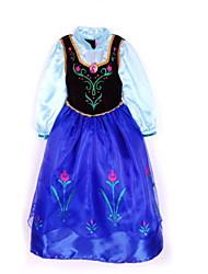 Vestido Chica deFloral-Raso-Todas las Temporadas