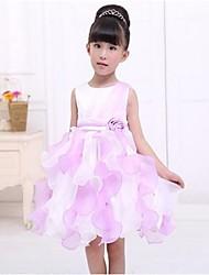 vestido de princesa color sólido cindys de linda chica romántico