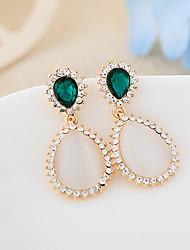 мода опал бриллиантовые серьги-гвоздики ainiya женские