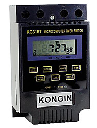 KG316T 2'' LCD Micro Computer Time Switch (220V)