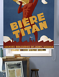 French Travel Ads (Vintage Art) Posters Roller Shade