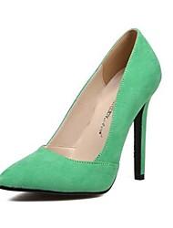 scarpe da donna pompe scarpe più colori disponibili punta aguzza stiletto tacco in pile