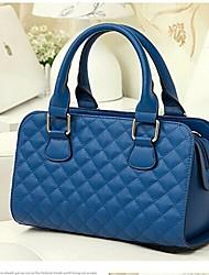 Xiuyi Women's Lozenge Print Handbag